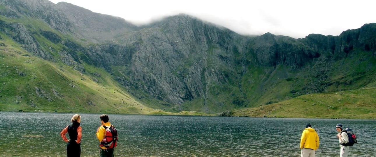 Hiking Glacial Lake